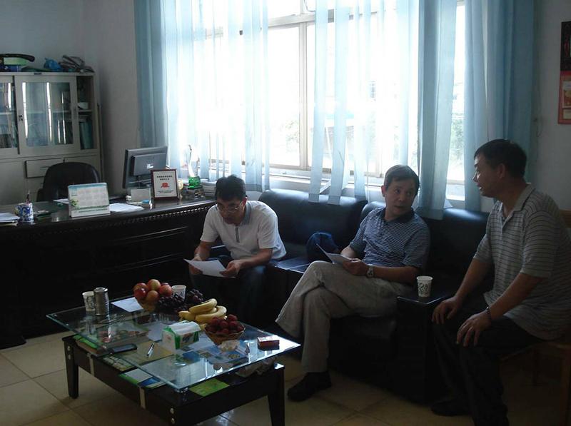 热烈欢迎浙江省农药检定所领导来我公司考察