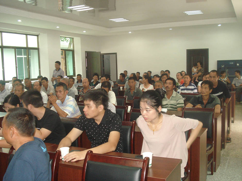 本公司受邀丽水大港头镇邀请参加大港头农业科技培训座谈会